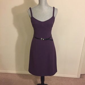 Michael Kors - Purple Dress with Belt  ~  NWT